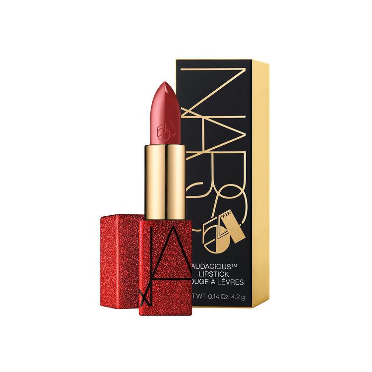Studio 54 Audacious Lipstick, NARS Superventas