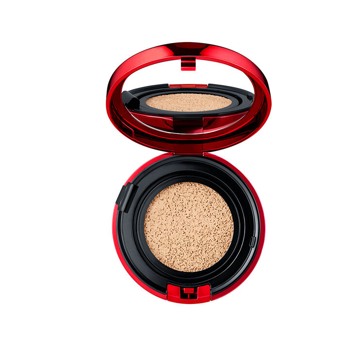 Estuche compacto vacío de Aqua Glow Cushion Foundation SPF 23 PA++++, NARS Bases de maquillaje