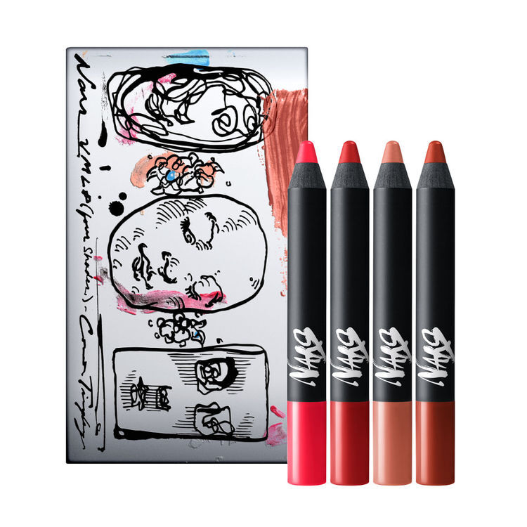 Connor Tingley Velvet Matte Lip Pencil Set, NARS Paletas labios