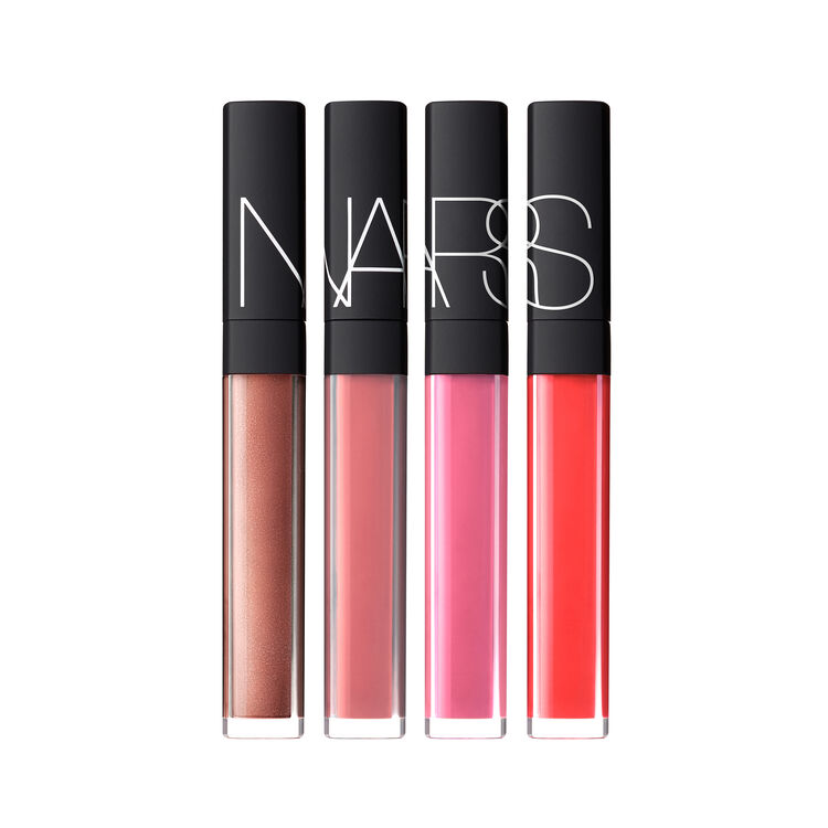 Hot Tropic Lip Gloss Coffret, NARS Paletas y regalos